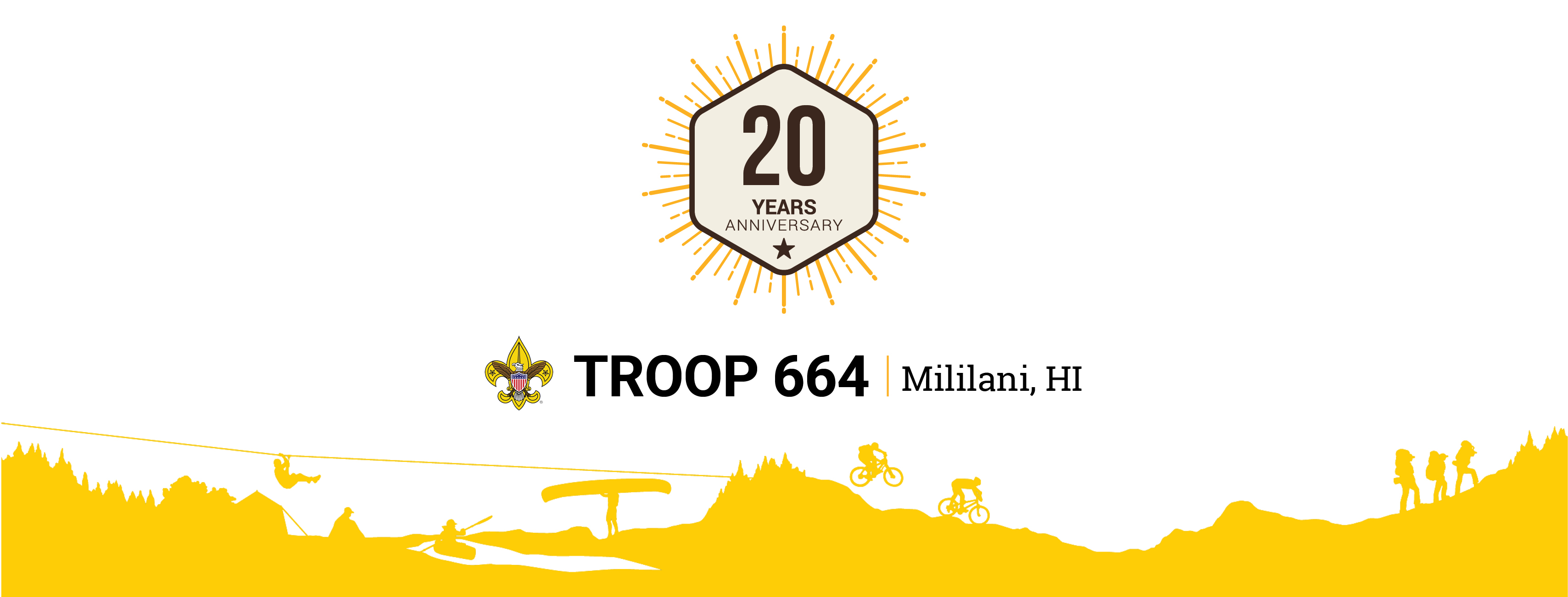 Troop 664 Logo